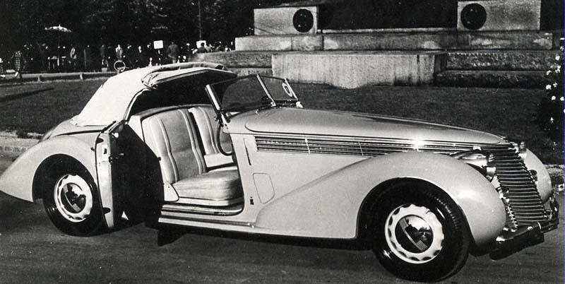 och ännu en mycket flott Pininfarinaskapelse