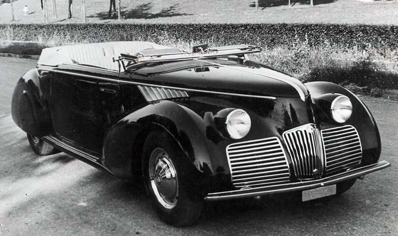 cabriolet, Pininfarina, 1940