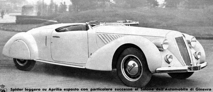 och en Pininfarinaskapelse till från samma år.