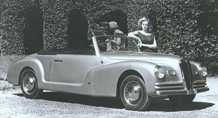 En vacker Pininfarinabyggd Aprilia från 1947.