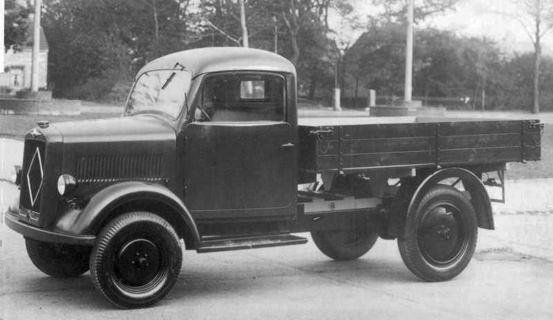 Borgward B1000 1947 Västtyskland