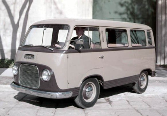 Ford FK1000 Transit 1954 Västtyskland