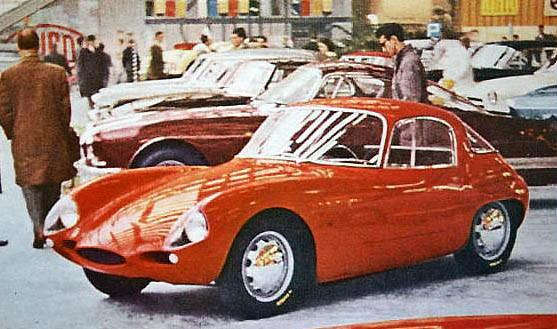 Abarth-Alfa Romeo 1000GT 1958 Italien
