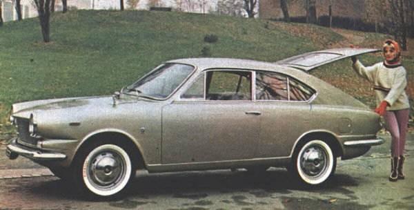 Moretti 1000D Weekend 1963 Italien