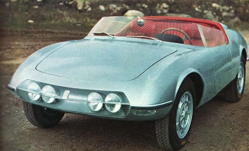 Abarth 1000 Pininfarina spider 1964 Italien