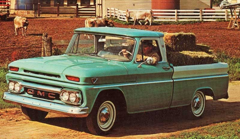 GMC 1000 De Luxe 1965 USA