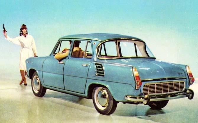 Skoda 1000MB Tjekoslovakien 1965