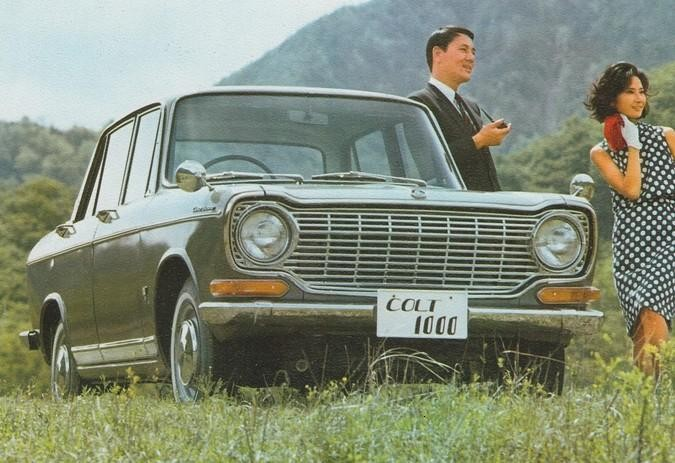 Mitsubishi Colt 1000 1966 Japan