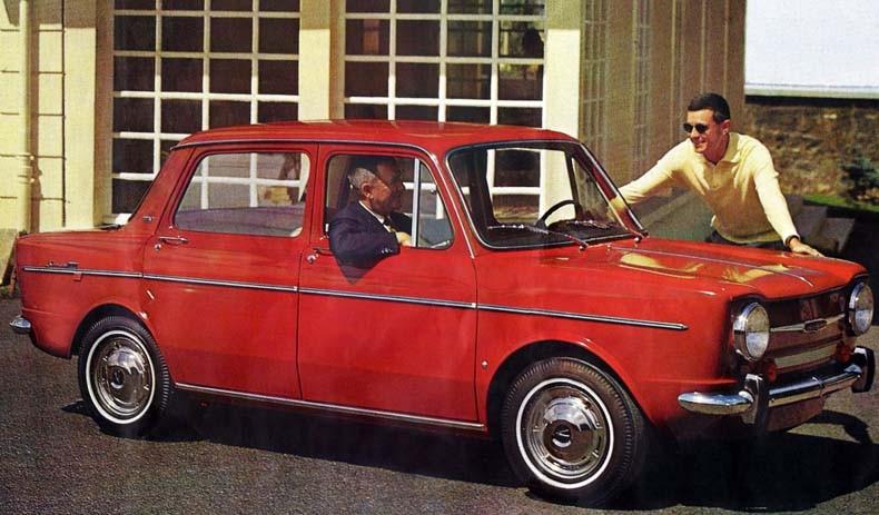 Simca 1000GLS 1965 Frankrike