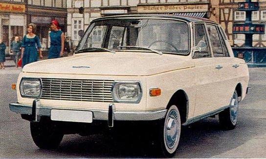 Wartburg 1000 Export 1967 Östtyskland