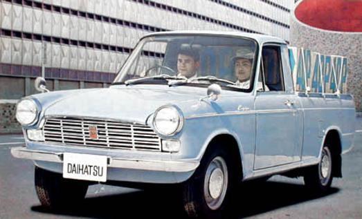 Daihatsu 1000 1968 Japan