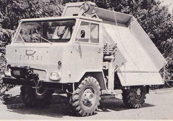 Kramer UF1000 1968 Västtyskland