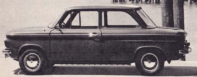 NSU 1000C 1969 Västtyskland
