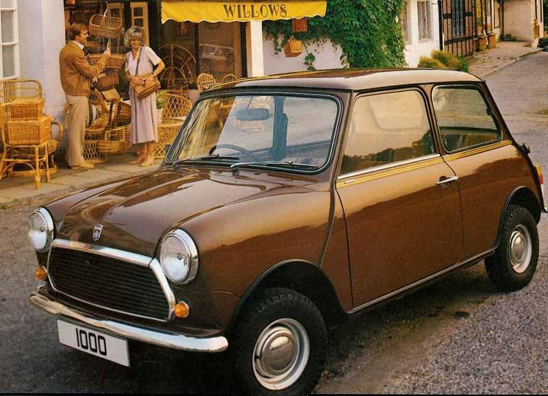 Mini 1000 1977 England