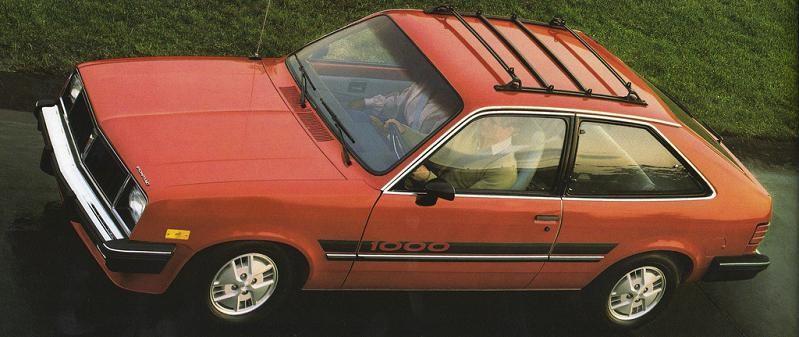 Pontiac 1000 1983 USA