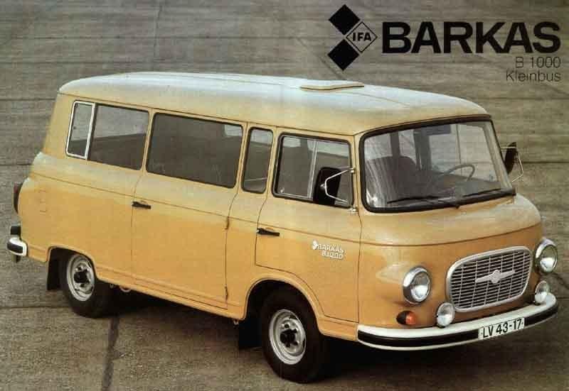 Barkas B1000 1985 Östtyskland
