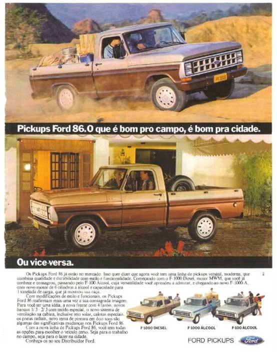 Ford F-1000 1986 Brasilien