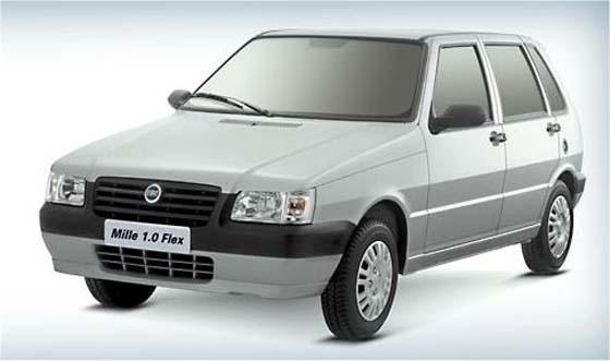 Fiat Mille Fire 2005 Brasilien