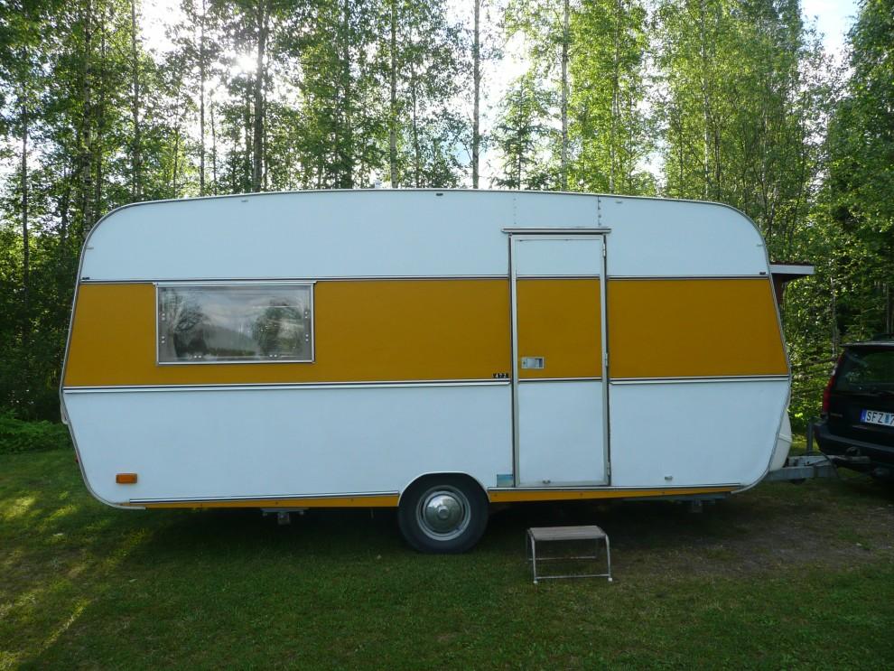 Cabbyn levererad till Finland där renoveringen ska ske.