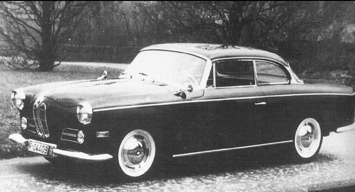 Freiburg kallade Autenrieth denna coupe, tre byggdes 1957-58