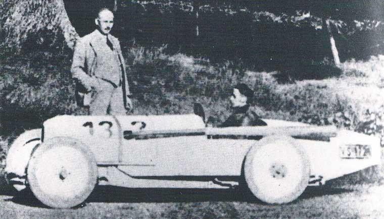 Fafag 1923, racerbil som byggdes i ett par exemplar i Darmstadt, ett stenkast från Autenrieth, som knackade till de enkla karosserna åt dom.