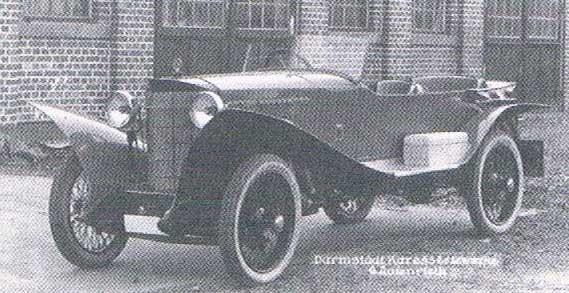 Steiger (Burgreiden 1920-1926) var ett av många kortlivade märken på 1920-talet, den här sportiga tourern är från 1924