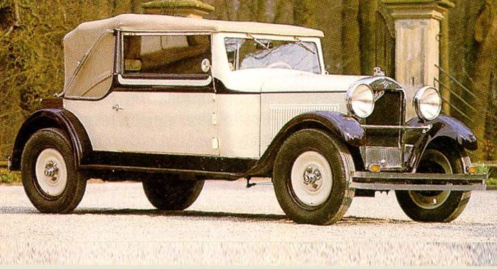 Tidig Röhr med Autenriethkaross 1928
