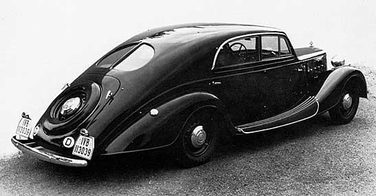 Stromformtemat på Maybach 1938