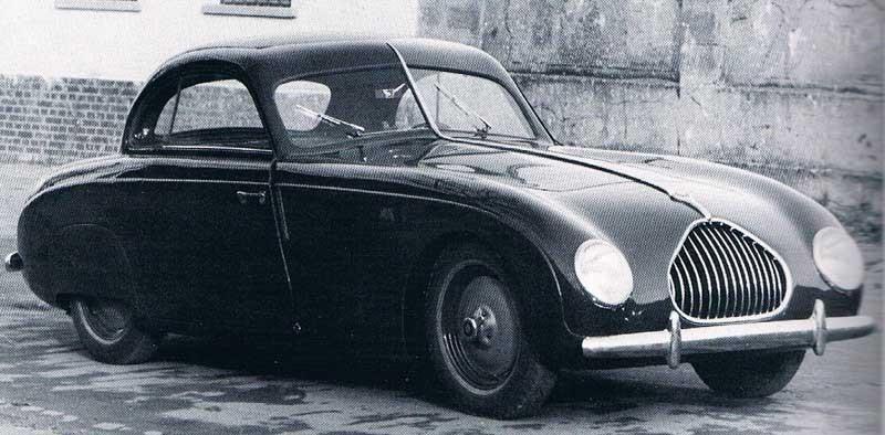 autenrieth lyckades till skilnad från många andra karossmakare komma igen efter kriget, man byggde ett par av karosserna åt den framgångsrika men kortlivade Veritas i slutet av 1940-talet