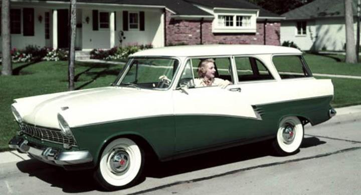 alla karossvarianter lanserades i amerika, även kombin.