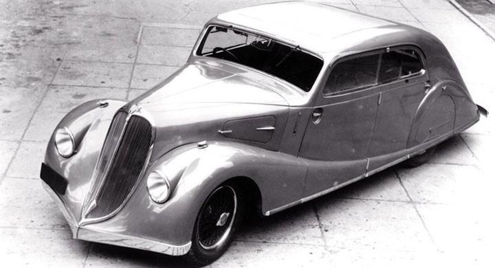 Sodomka tog gärna till sig de senaste rönen och trenderna, 1934 skapades en serie strömlinjekarosser i senaste snitt, främst på Walter Regent.