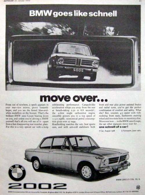 Goes like Schnell var en annan vitsig kampanj 1973