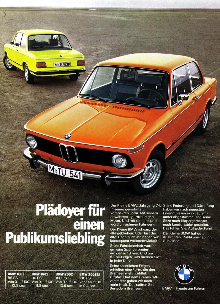 1973 års program på tyska