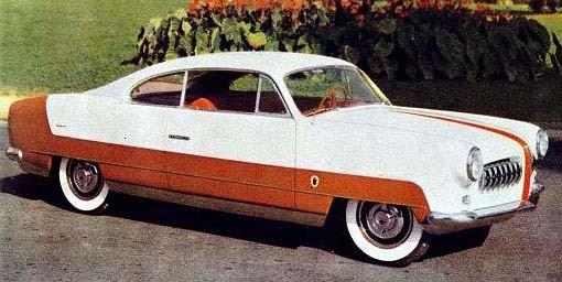 Fiat 1900 coupe från Ghia 1952