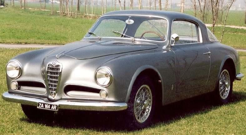 Alfa Romeo 1900C coupe från Pininfarian 1953