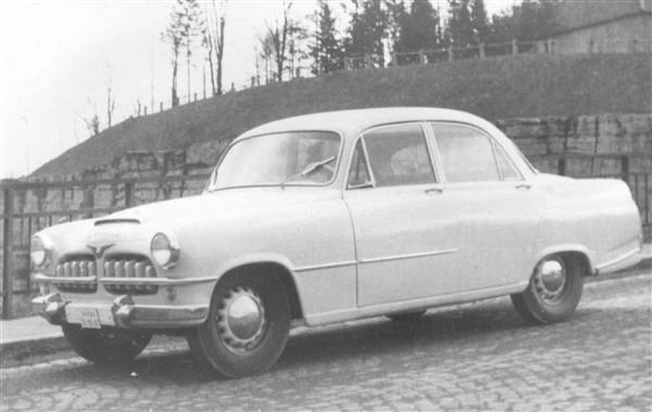 Men sen kom man mest att fungera som en prototypverkstad åt skoda, denna mellanklassmodell  kallades 1500 och skall ha byggts runt 1955.