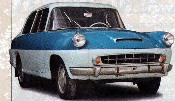 Skoda 765 prototyp 1956