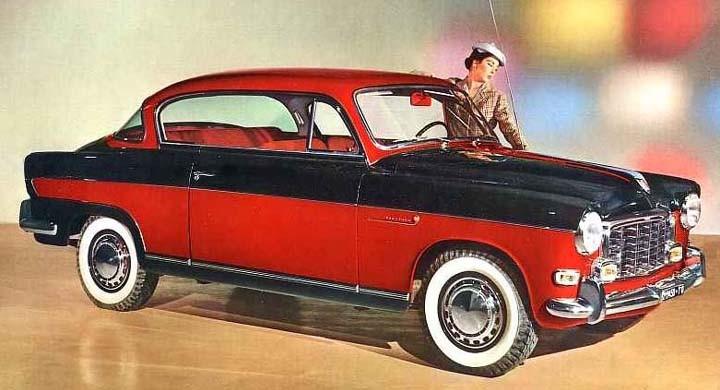 Fiats egna lyxmodell på 1900 hette Gran Luce, här från 1957.