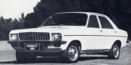 Sydafirkansk Chevrolet 1900, 1976.