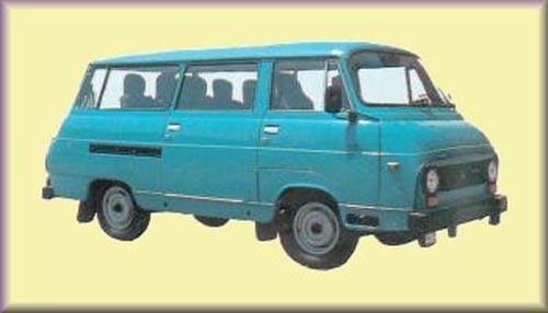 Slovakiska lätta lastbilen TAZ 1900D är nog bland de sista att bära den nomenklaturen, denna från 1997