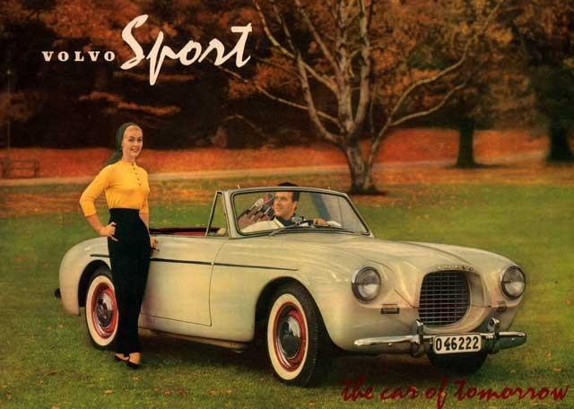 Volvo P1900 hette ju egentligen inte så från början utan bara Volvo Sport
