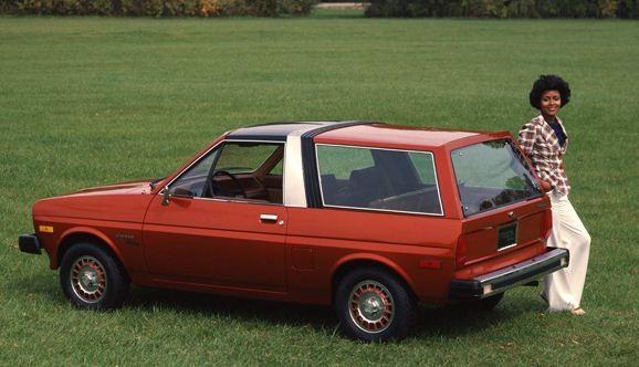 ...på samma system som senare sågs på Nissan Pulsar EXA.