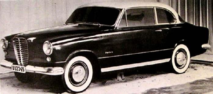 Och #55 som bar drag av den italienbyggda Volvo Elisabethvagnen, denna design trixades det med tills den så småningom blev den nya Amazonen