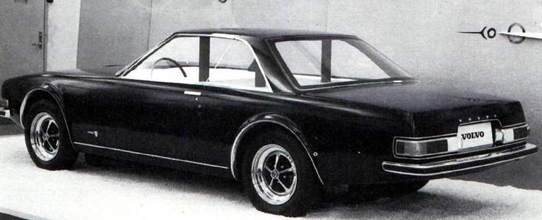 Men tyvärr fick vi aldrig se vad som borde vara Volvos mest spännande projekt nånsin, P172 som bör ha sett dagens ljus runt 1967-68. En tidlöst elegant sportcoupé i den högre divisionen. Bara en fullskalemodell, som kom så pass långt att den lackades mörkblå och ställdes ut, men proppen drogs ur projektet, som annars kunnat blivit en klassiker .
