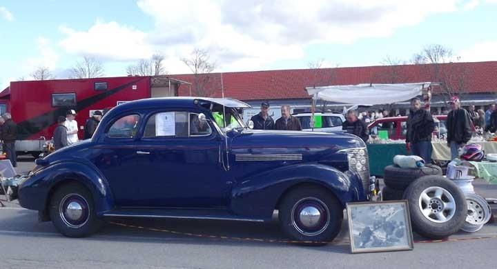 Chevrolet 1939 i marknadsvimlet
