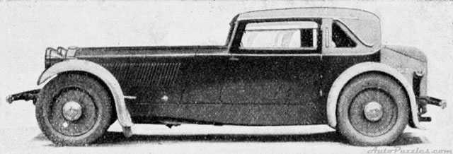 Moveo var tänkt att bli en ganska exklusiv coupé med kontinentalt snitt. Motorn kom från Meadows och var på 3 liter och hade kompressormatning, karossen byggdes av Jensen. Två större motorer fanns på listan men av allt att döma byggdes bara en enda Moveo 1932.
