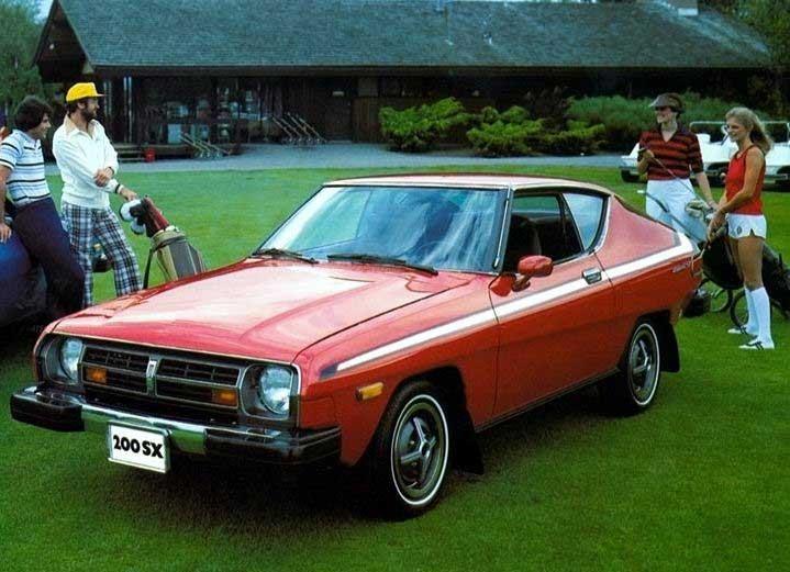 Vi rör oss bort från 80-talet, och detta är en Datsun 100SX Silvia 1975