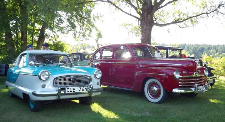Den här onsdagsträffen attraherar både stora och små,  söt Metropolitan brevid Ford 46.