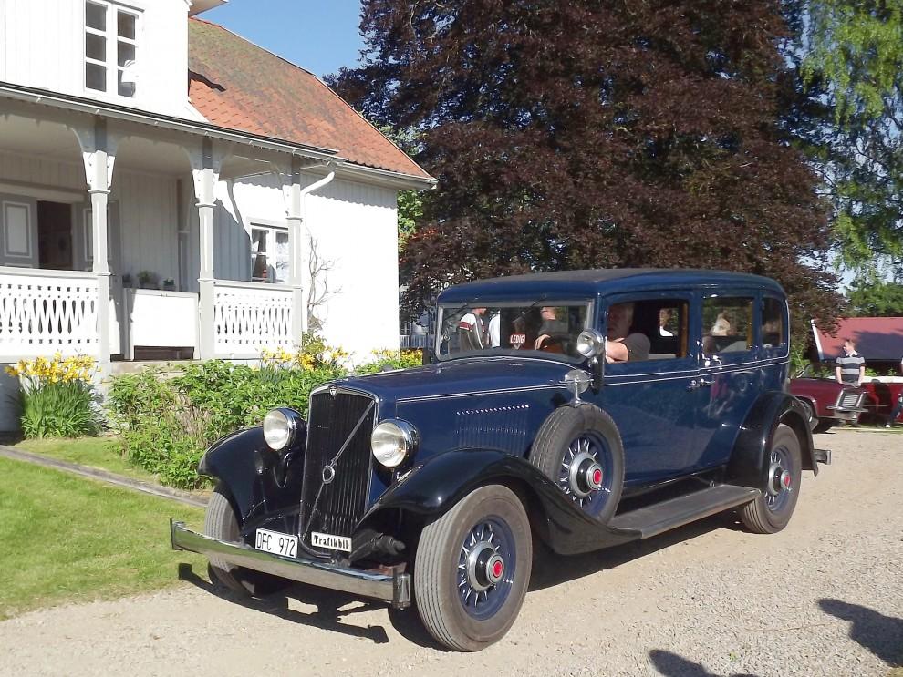 Och här en Volvo från 1935, en TR703