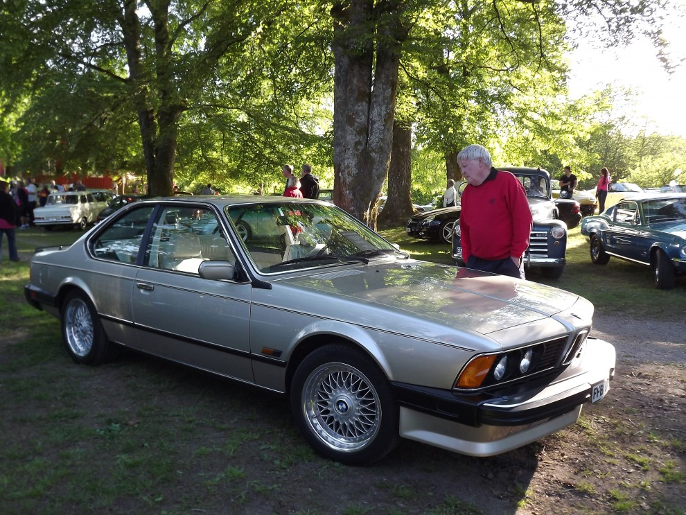 BMW 635CSi i mycket fint skick